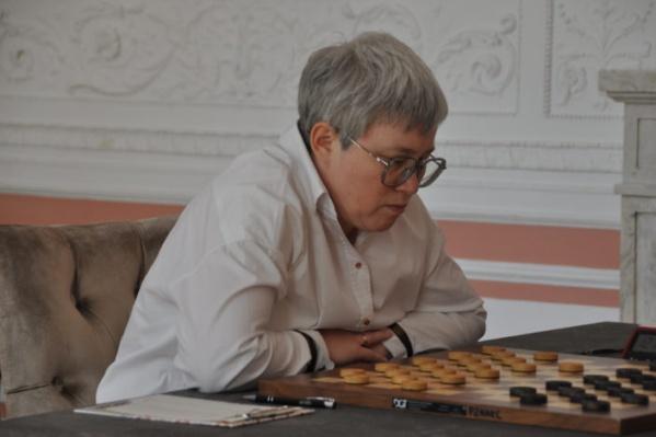 Тамара Тансыккужина принесла Башкирии победу в седьмой раз на турнире по шашкам
