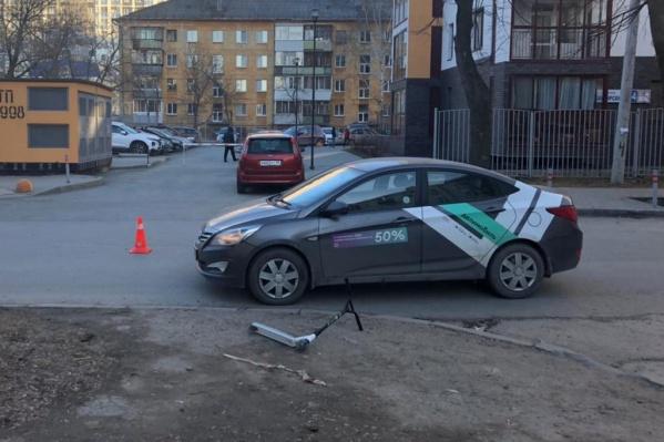 Водитель каршеринговой машины сбил мальчика