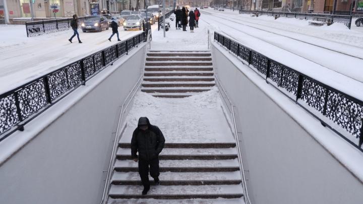 В Челябинске могут оставить скандальный наземный переход на площади Революции