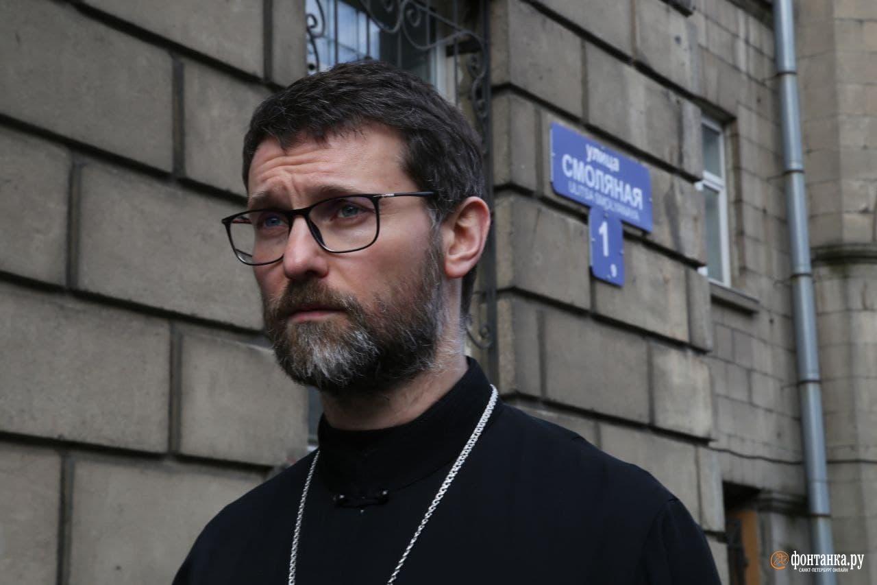 Священик Богдан Полевой, настоятель Скорбященской церкви, прихожане которого выступили с инициативой переименования.