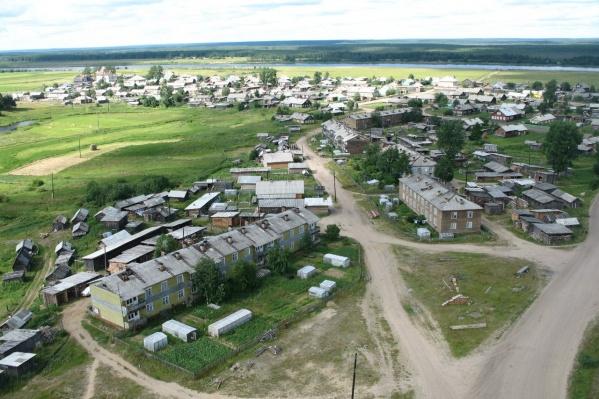 Село Сура — центр Сурского муниципального образования, где произошло денежное преступление