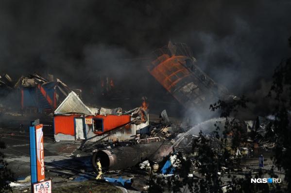 Следственный комитет возбудил уголовное дело по факту пожара