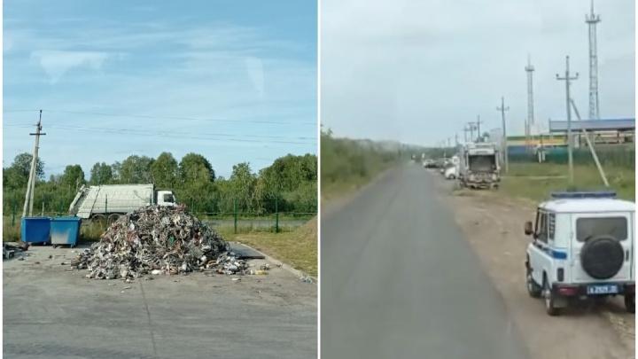 Радиоактивный мусоровоз не впустили на тюменский мусоросортировочный завод