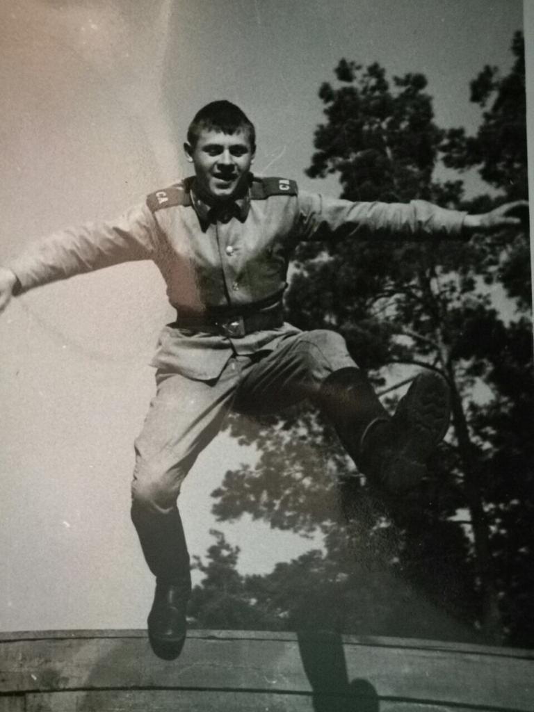 Дмитрий Сергин служил в ГСВГ
