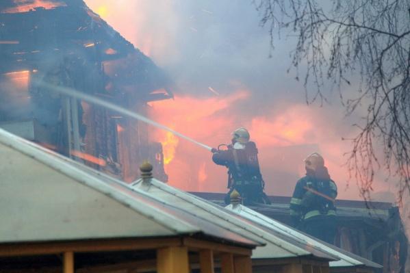 Пожару присвоили второй номер сложности