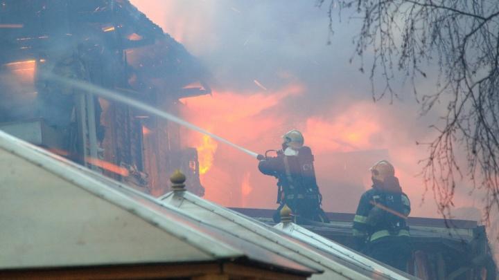 Прокуратура начала проверку из-за пожара в «Девичьей башне» вСоломбале