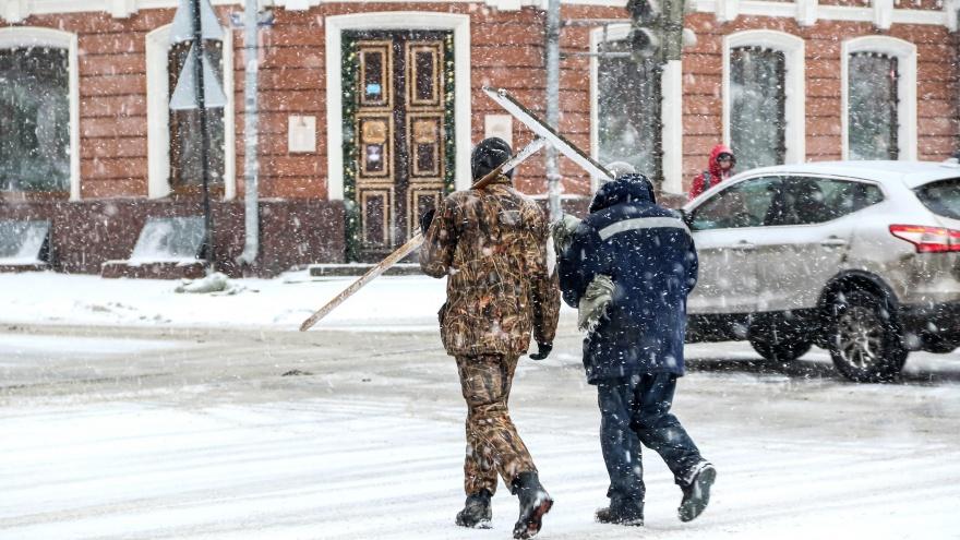 Февраль этого года стал самым снежным за80лет вНижнемНовгороде