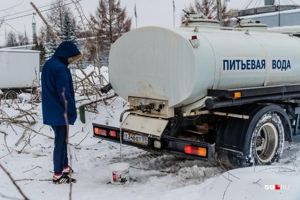 Скорее всего, на время отключения организуют подвоз воды