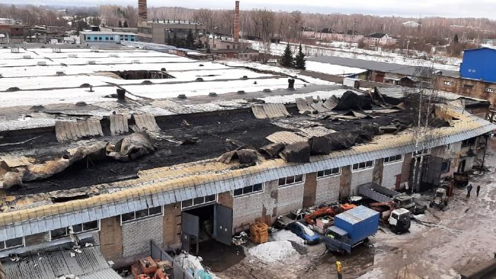 После пожара на заводе в Рыбинске возьмут пробы воздуха в соседнем районе