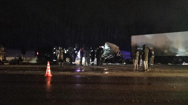 В полиции назвали предполагаемую причину ДТП под Самарой, в котором погибли 12 человек