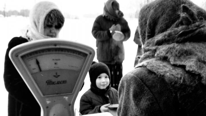 Жители поселка сделали ретрофотосессию в память о блокаде Ленинграда