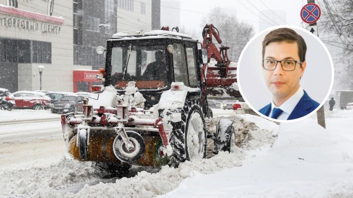 Прокуратура вынесла представление Юрию Шалабаеву из-за некачественной уборки снега