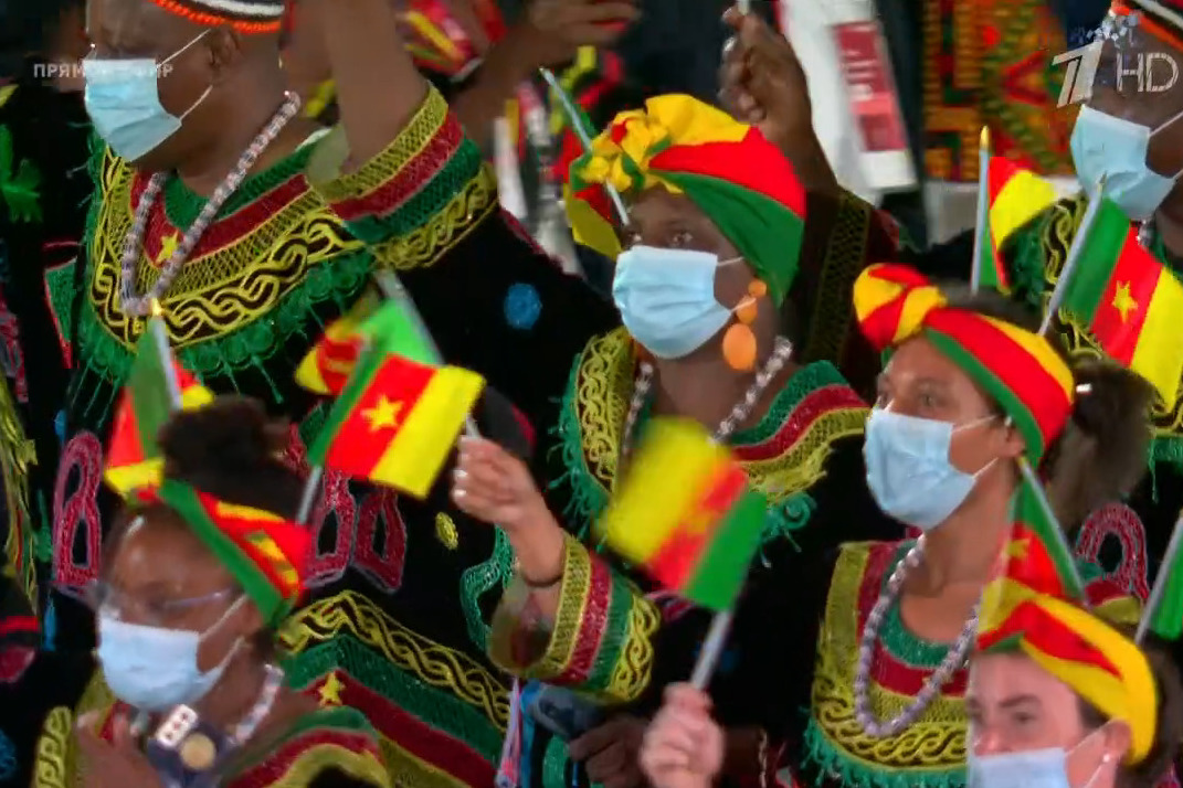 Сборная Камеруна показала, что такое по-настоящему яркая экипировка