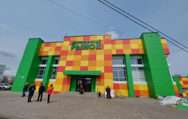 Фуд-корт и новые павильоны: Дзержинский рынок Ярославля снова модернизируют