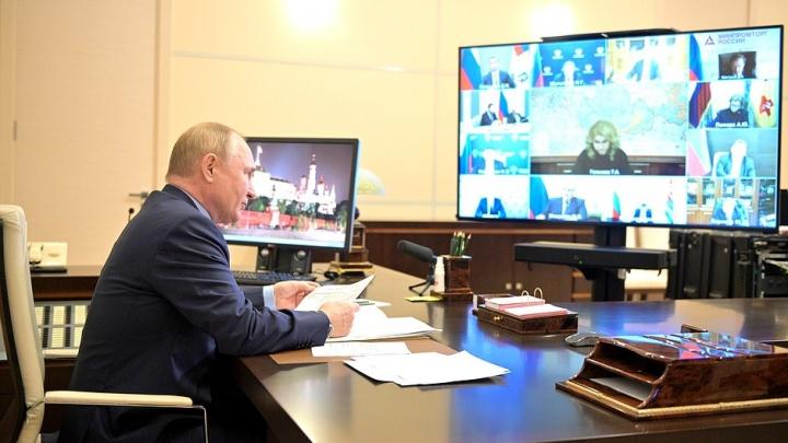 Путин пообещал выплаты бизнесу, пострадавшему из-за нерабочих дней