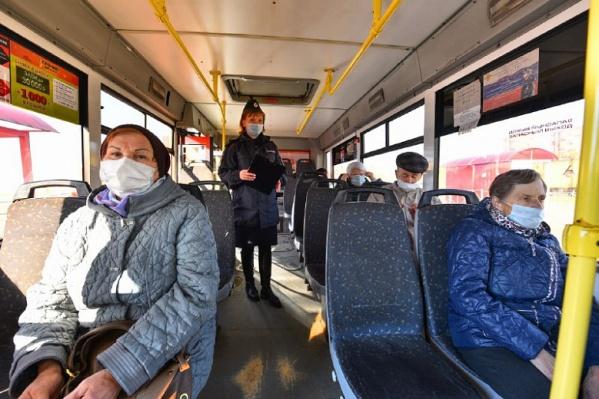 В Ярославской области уже начались усиленные рейды по выявлению нарушителей масочного режима