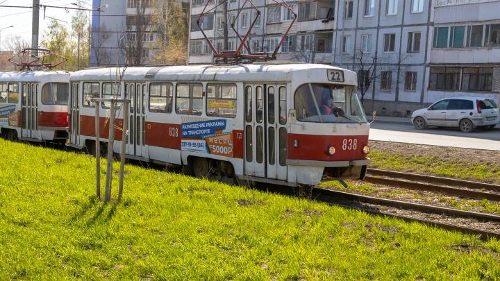 В дептрансе Самары частые простои трамваев списали на износ вагонов