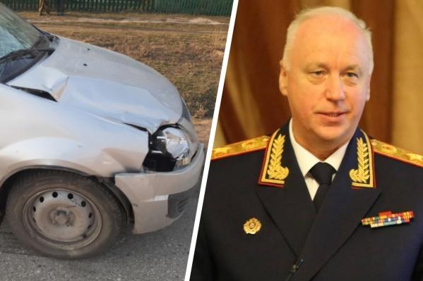 Александр Бастрыкин заинтересовался делом о смертельном ДТП