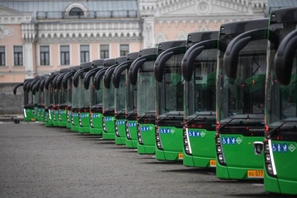 В общественном транспорте Екатеринбурга появилисьсовременные видеоэкраны