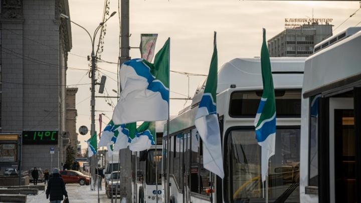 В Новосибирске на маршрут вышли 15 новых белорусских автобусов