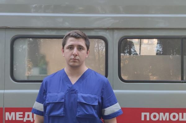 Артём планирует совмещать работу на скорой с профсоюзной деятельностью