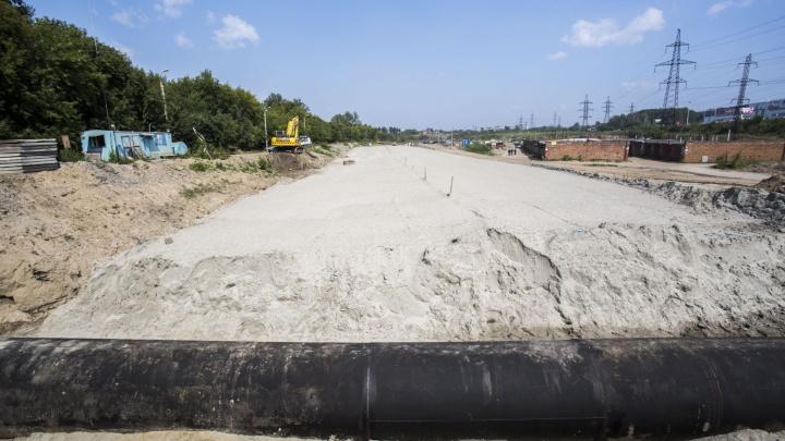 В Новосибирске ищут подрядчика для строительства участка Восточного обхода