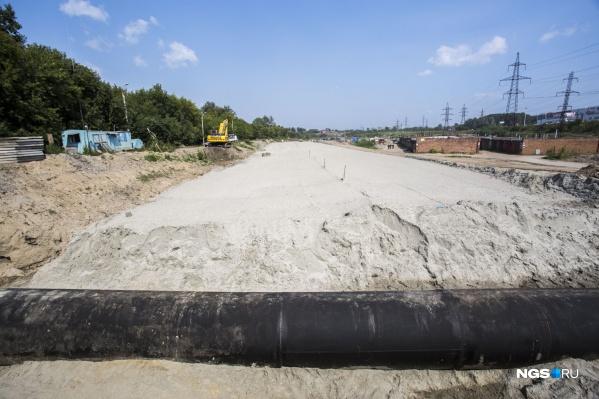 10-километровый участок планируют строить больше трех лет