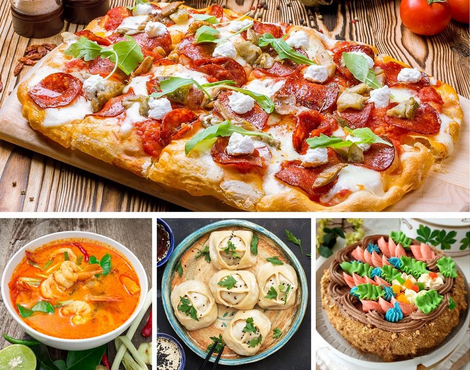 Для повседневного стола «Теорема» предлагает внушительное меню готовых блюд на любой вкус