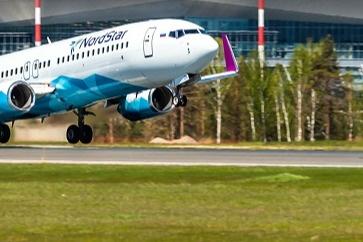 Самолет принадлежит NordStar