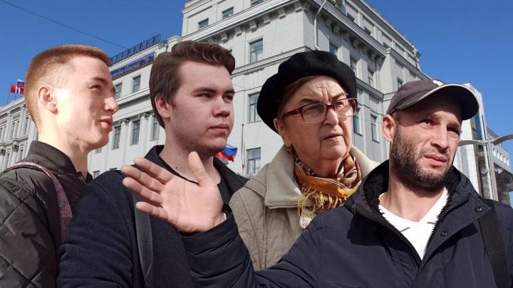 «Тяжело работать в Омской области»: видеоопрос омичей о работе Фадиной на посту мэра