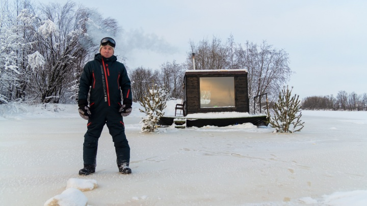«Места, где никого не будет»: северянин открыл домики для туристов там, куда не доедешь на машине