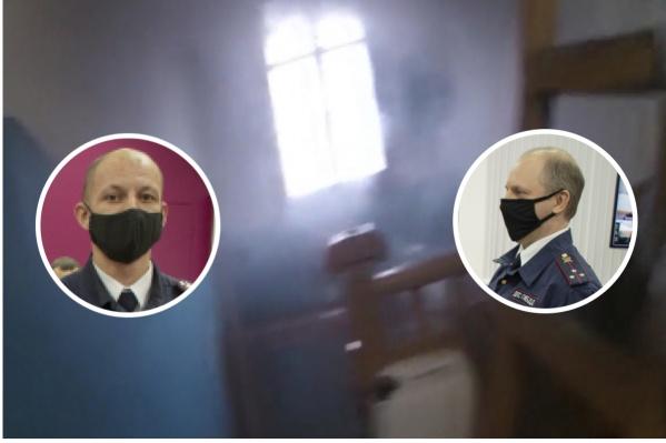 Когда полицейские зашли в дом, внутри уже был едкий дым