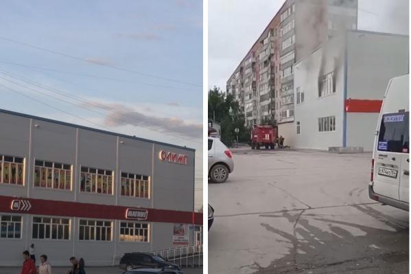 Очаг возгорания находился на втором этаже