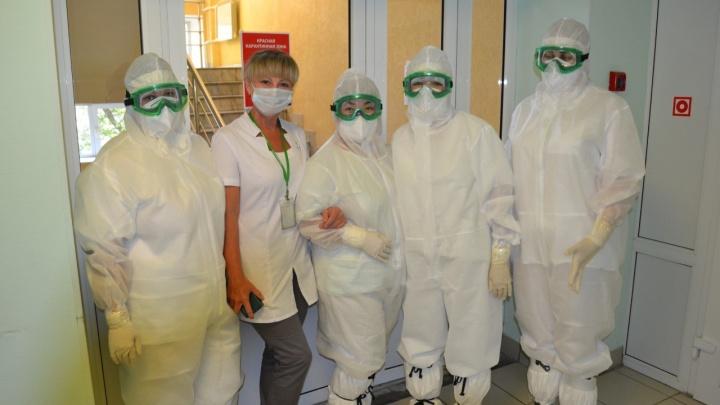 В Омском ФМБА открыли стационар для ковидных пациентов