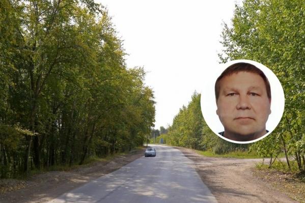 Мужчину искали в Кировском районе