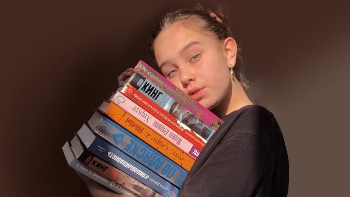 Челябинская шестиклассница пишет в инстаграме отзывы на книги и претендует на премию от ведущих издательств страны