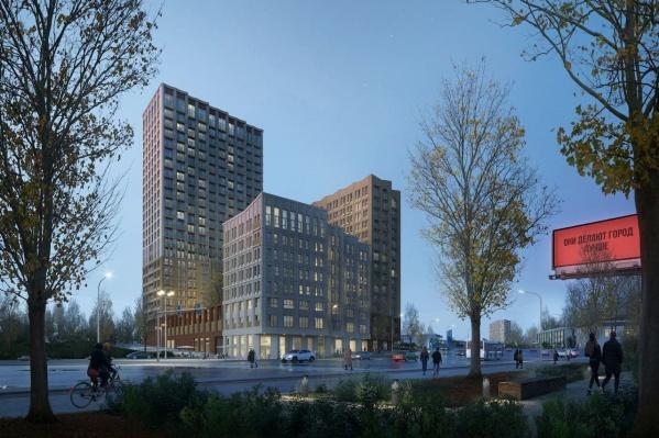 Новый жилой комплекс построят на улице Немировича-Данченко рядом с областной больницей