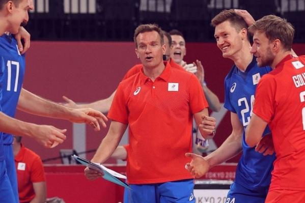 Югорские волейболисты отстаивают честь страны на Олимпиаде в Токио