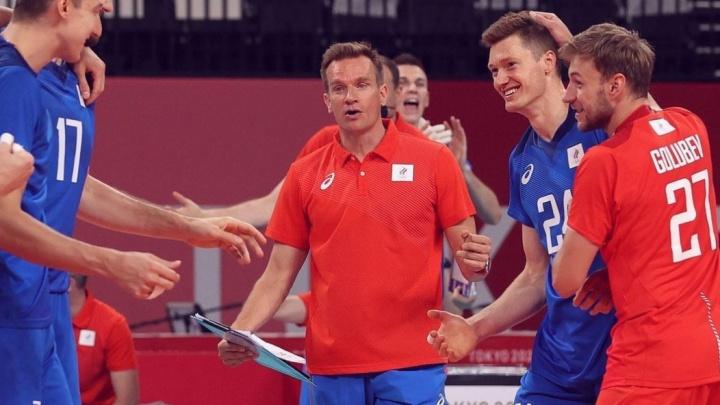 Воспитанники югорской волейбольной школы Артем Вольвич и Игорь Кобзарь сразятся в полуфинале Олимпиады