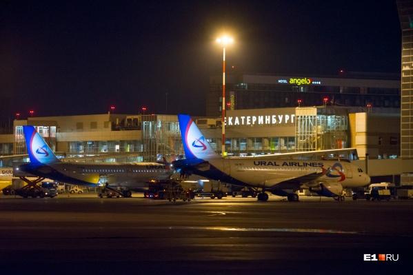 43-летний пассажир рейсаМосква — Екатеринбург устроил дебош в самолете