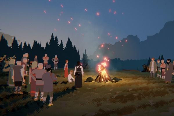 Игру создавали по мотивам прикамских быличек
