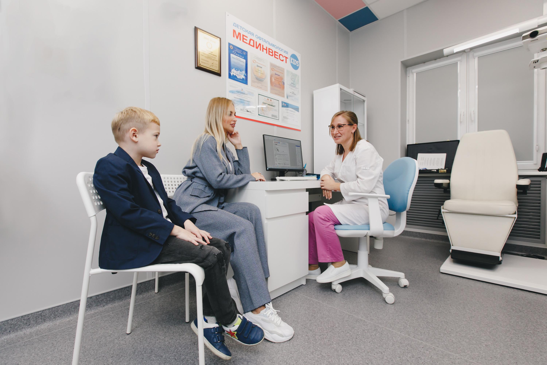 Полную диагностику деткам в «Мединвест Кидс» сейчас проводят бесплатно*