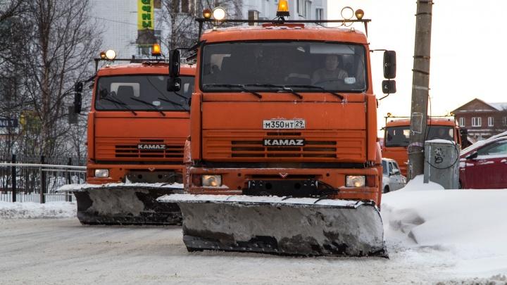 Мезенскому дорожному управлению предложили контракт на уборку Архангельска