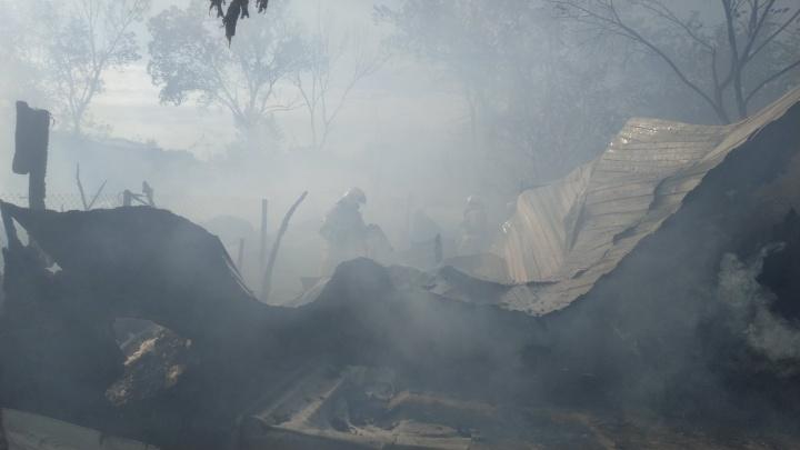 В МЧС озвучили причину пожара на острове Поджабном