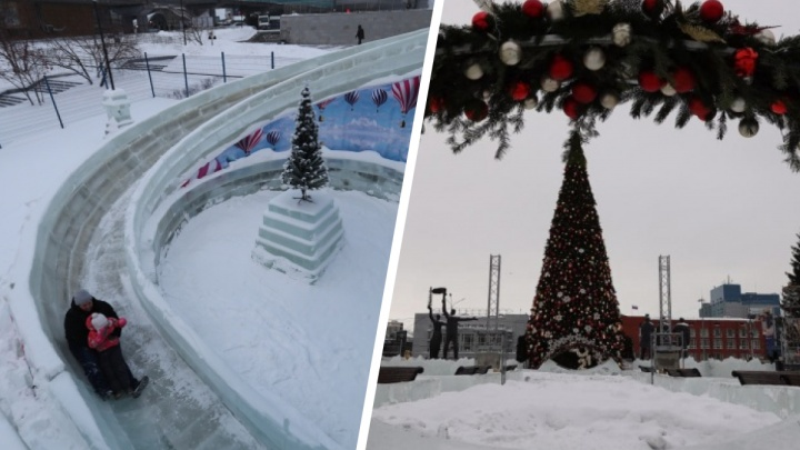 Скандальный каток в Новосибирске закрыли из-за морозов — что еще не работает в -35 градусов
