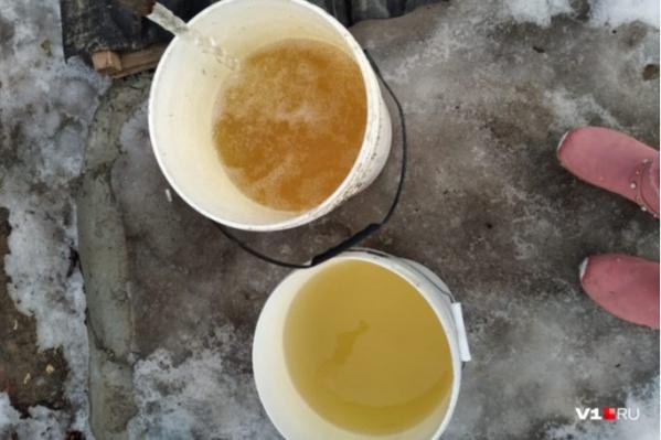 Рассол вместо воды люди вынуждены пить уже четыре года