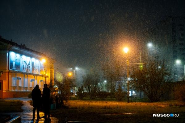 Мокрый снег пройдет в понедельник и в среду