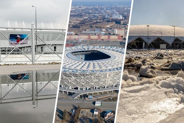 Строительство этих стадионов потребовало огромных вложений