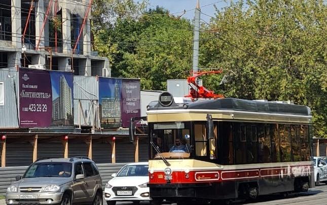 Артефакт из прошлого можно увидеть из окон нижегородских трамваев