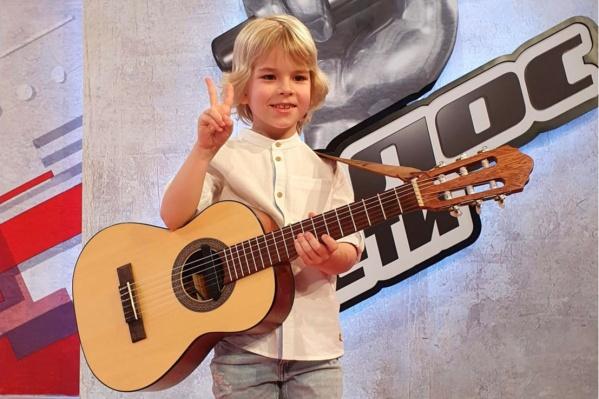 Мирон из Рыбинска попробовал свои силы в телешоу «Голос. Дети» на Первом канале